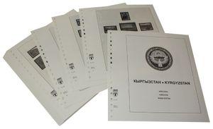 Kirgisien - Vordruckalbum Jahrgang 1992-2002