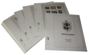 Cocos Islands (Keeling) - Illustrated album pages Year 1963-2012