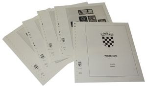 Croatia Republic - Illustrated album pages Year 2003-2012