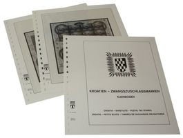 Croatia Obligatory Tax stamps - Sheetlets - Illustrated album pages Year 1994