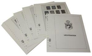 Liechtenstein - Feuilles pré-imprimées Année 1912-1959