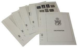 Liechtenstein - Feuilles pré-imprimées Année 1960-1971