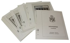 Liechtenstein Kleinbogen - Vordruckalbum Jahrgang 1981-1982