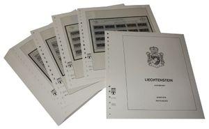 Liechtenstein Petits blocs - Feuilles pré-imprimées Année 1985-1986