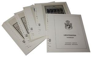 Liechtenstein Kleinbogen - Vordruckalbum Jahrgang 1991-1992