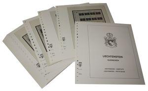 Liechtenstein Petits blocs - Feuilles pré-imprimées Année 1993-1994