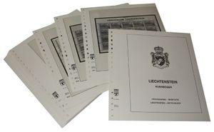 Liechtenstein Petits blocs - Feuilles pré-imprimées Année 1995-1996