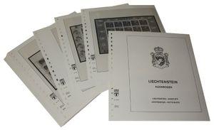 Liechtenstein Petits blocs - Feuilles pré-imprimées Année 1997-1998