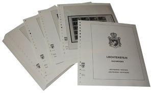 Liechtenstein Kleinbogen - Vordruckalbum Jahrgang 2003-2004