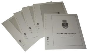 Luxembourg Booklets - Illustrated album pages Year 1986-2011