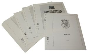 Macao - Illustrated album pages Year 1996-1999