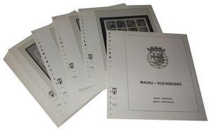 Macau Kleinbogen - Vordruckalbum Jahrgang 1985-1999