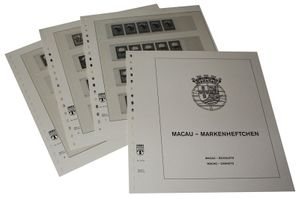 Macao Booklets - Illustrated album pages Year 1984-1995