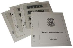 Macau Markenheftchen - Vordruckalbum Jahrgang 1984-1995