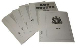 Malta - Vordruckalbum Jahrgang 1860-1971