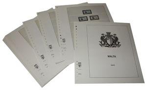 Malte - Feuilles pré-imprimées Année 1972-1984
