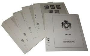 Malte, Ordre de souveraineté - Feuilles pré-imprimées Année 1993-2001