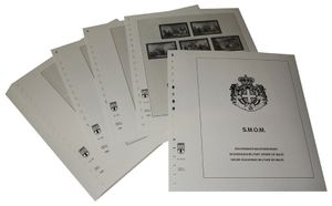 Maltese order, sovereign - Illustrated album pages Year 2002-2009
