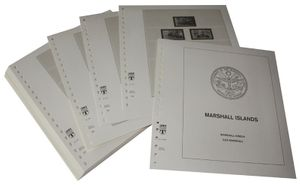 Marshall Islands - Illustrated album pages Year 1993-1997