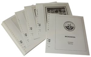 Micronesia - Illustrated album pages Year 1999-2000