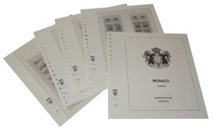 Monaco Booklets - Illustrated album pages Year 1989-2000
