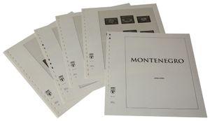 Montenegro - Vordruckalbum Jahrgang 2006-2016