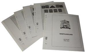 Neufundland - Vordruckalbum Jahrgang 1857-1949