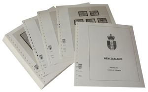 New Zealand - Illustrated album pages Year 2003-2006