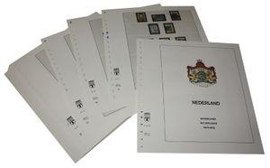Pays Bas - Feuilles pré-imprimées Année 1990-1998