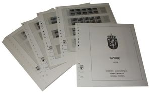 Norway Booklets - Illustrated album pages Year 1976-2010