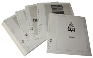 Palau - Illustrated album pages Year 1983-1992