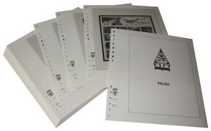Palau - Illustrated album pages Year 1999-2000