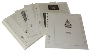 Palau - Illustrated album pages Year 2004-2005