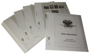 Papua New Guinea - Illustrated album pages Year 1985-1999