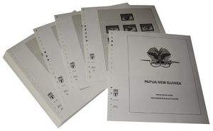 Papua New Guinea - Illustrated album pages Year 2000-2007