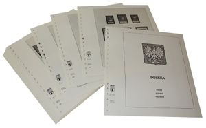 Poland People's Republic - Illustrated album pages Year 1960-1964