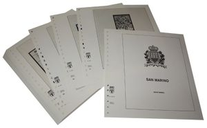 San Marino - Illustrated album pages Year 1997-2007