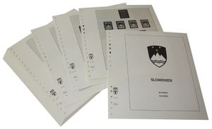 Slowenien - Vordruckalbum Jahrgang 1991-2003