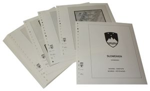 Slowenia Sheetlets - Illustrated album pages Year 1992-2007
