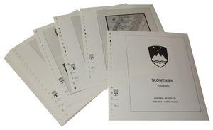 Slowenien Kleinbogen - Vordruckalbum Jahrgang 1992-2007