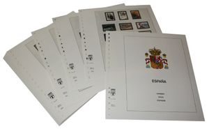 Spain - Illustrated album pages Year 2003-2007