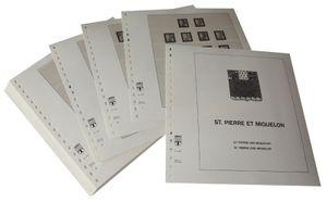 St. Pierre und Miquelon - Vordruckalbum Jahrgang 1885-1951