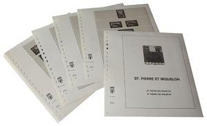 St. Pierre und Miquelon - Vordruckalbum Jahrgang 1952-1976
