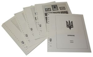 Ukraine - Vordruckalbum Jahrgang 2002-2008