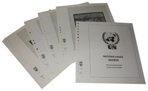 Vereinte Nationen GENF - Vordruckalbum Jahrgang 1998-2012
