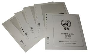 United Nations GENEVA Booklets - Illustrated album pages Year 1995-2016