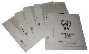 Vereinte Nationen GENF Markenheftchen - Vordruckalbum Jahrgang 1995-2016