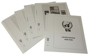 United Nations NEW YORK - Illustrated album pages Year 2000-2012