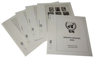 United Nations VIENNA - Illustrated album pages Year 2002-2013