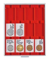 Coin box STANDARD with 12 rectangular compartments, suitable for REBECK COIN L coin holders 50 x 75 mm.  – Bild 1